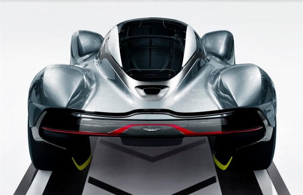 Aston Martin and Red Bull Racing unveil the AM-RB 001 Hypercar