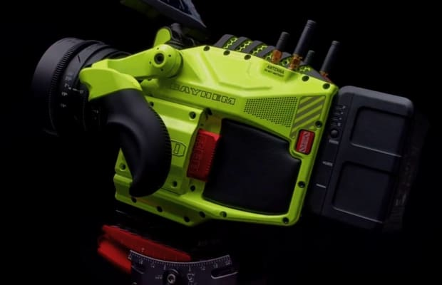 2016 Rewind | RED's custom camera for Michael Bay looks like a miniature Autobot