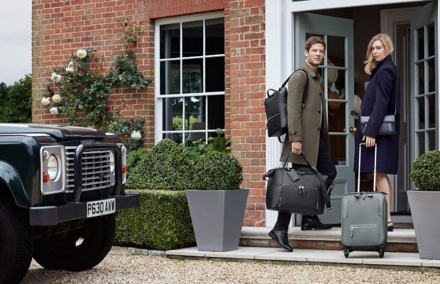 Smythson introduces its first carry-on luggage collection