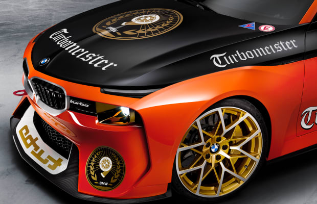 BMW's newest 2002 Hommage pays tribute to vintage racing