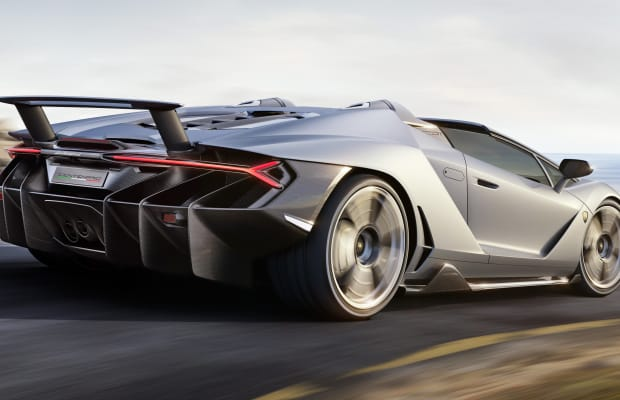 Lamborghini's Centenario Roadster lets you enjoy the soundtrack of a 770-hp V12