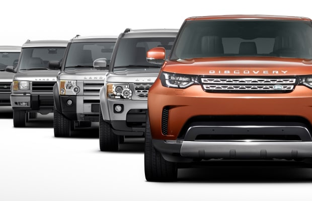 Land Rover previews the third generation Discovery