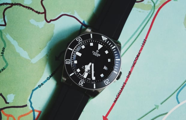 In Good Company | The Tudor Pelagos and the Prometheus Design Werx Expedition Watch Band Compass