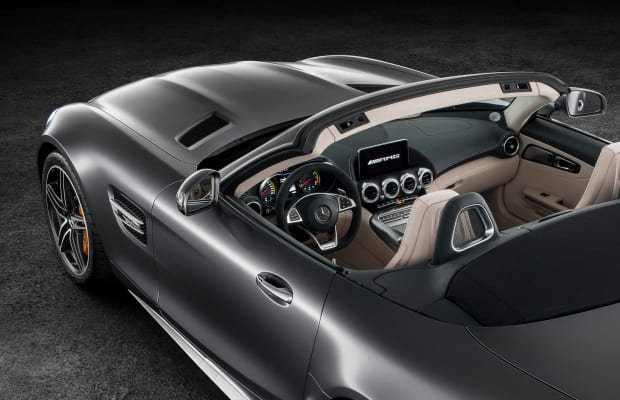 The AMG GT goes roofless with a new roadster variant