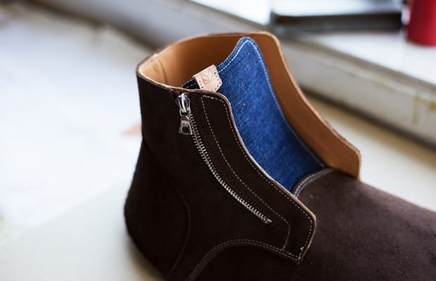 Maple releases a zippered version of Viberg's Service Boot