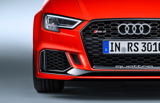 Audi's RS3 features the most powerful five-cylinder in the world