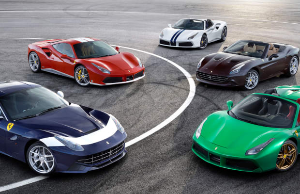 Ferrari celebrates 70 years with 70 special edition liveries