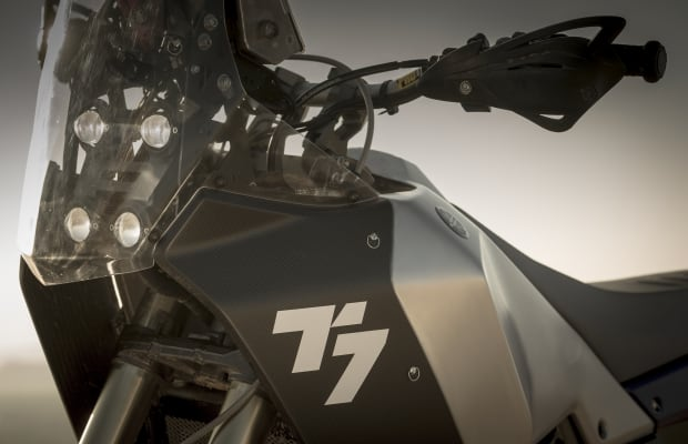 Yamaha's T7 Concept previews the future of its adventure bike lineup