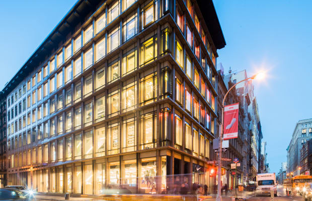 Nike opens a new retail experience in New York's SoHo neighborhood
