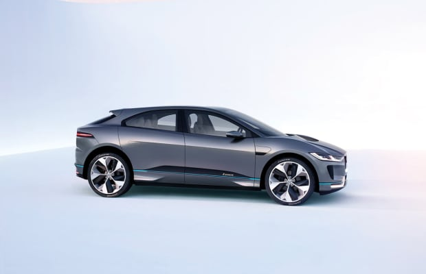 Jaguar's I-Pace Concept previews what could be the most beautiful all-electric SUV on the market