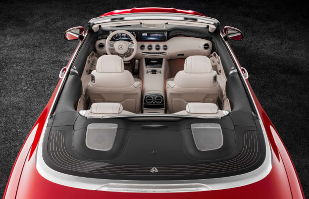 Mercedes-Maybach unveils the ultimate expression of a luxury convertible