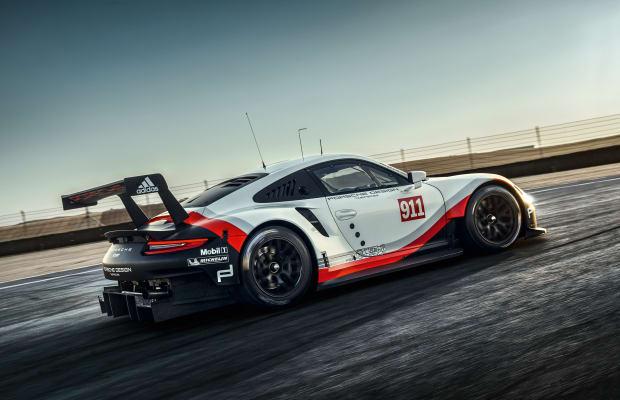 Porsche readies a new 911 RSR for next year's Le Mans