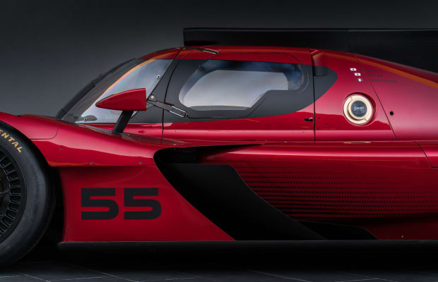 Mazda has its sights set on the competition with their new Prototype Racer