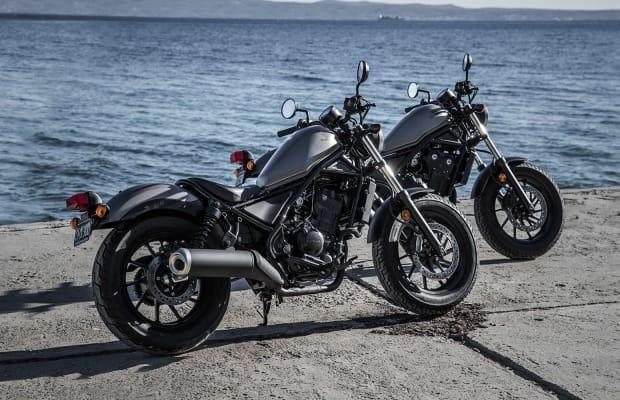 Honda's newest Rebels set their sights on beginner and seasoned riders