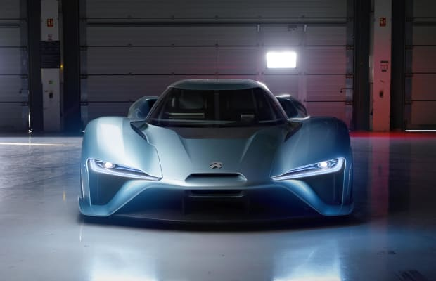NextEV's NIO EP9 is the Nürburgring's new EV champion