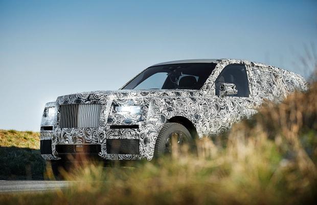 Rolls-Royce teases Project Cullinan