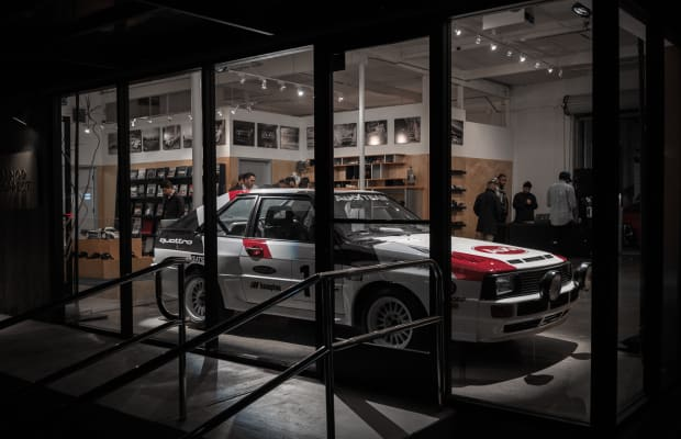 Period Correct's latest collection celebrates Audi's rallying history