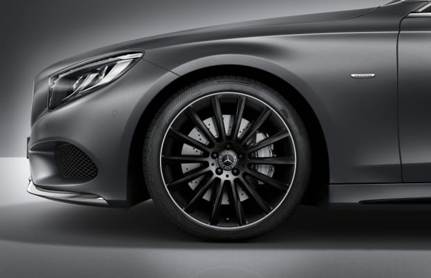 Mercedes previews its Night Edition S-Class Coupe