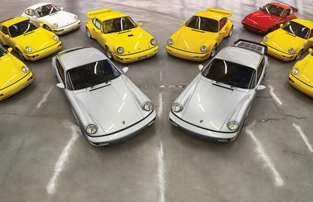 RM Sotheby's announces the 'Exclusively Porsche - The 964 Collection' auction