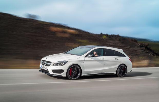 The Mercedes CLA Shooting Brake