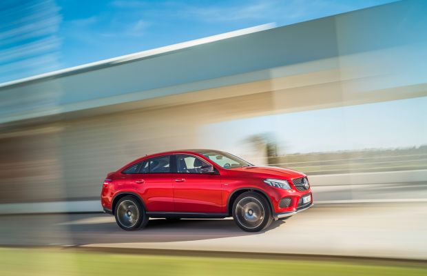 Mercedes unveils the GLE Coupe