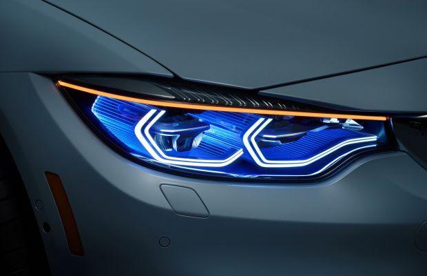 Beyond Xenon: BMW's M4 Concept Iconic Lights