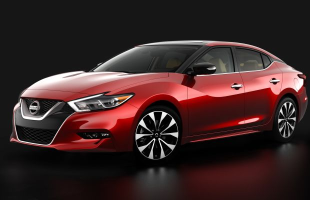 Nissan previews the 2016 Maxima