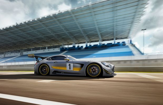 Merc's new missile, the Mercedes-AMG GT3