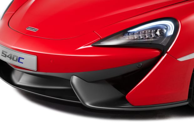 McLaren debuts the 540C Sports Coupe