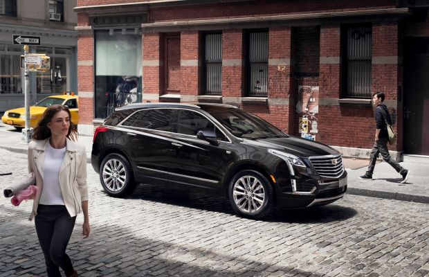 Cadillac fully unveils their XT5 Crossover