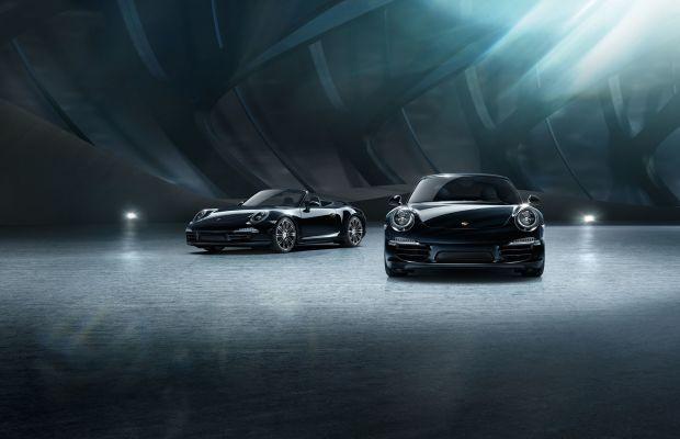 Porsche's new Black Edition Models