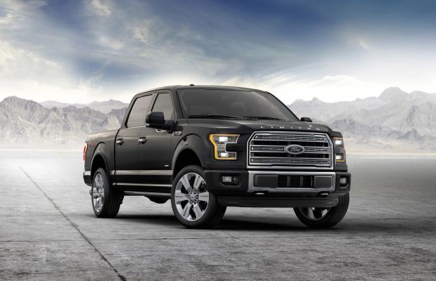 Ford introduces its most luxurious truck yet, the 2016 F-150 Limited