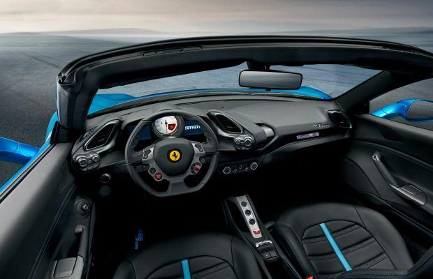 Ferrari's newest drop-top, the 488 Spider