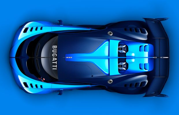 The Bugatti Vision Grand Turismo previews what may lie ahead for the Veyron replacement