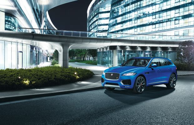 Fully revealed, the new Jaguar F-Pace