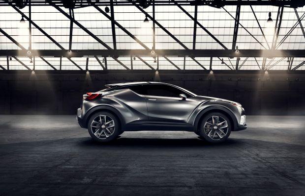 The Toyota C-HR Concept
