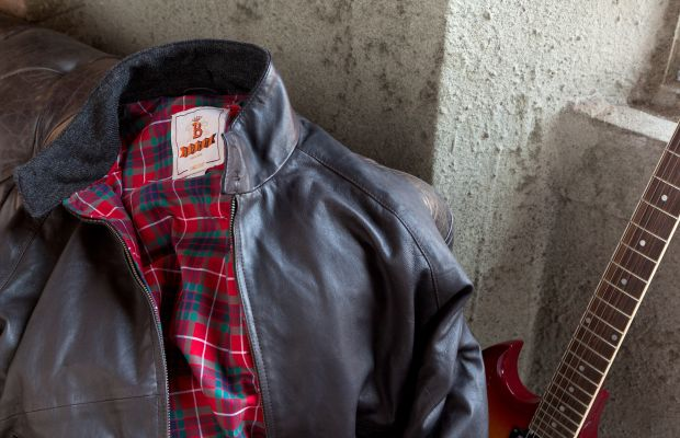 The Baracuta G9 gets a leather update just in time for the winter
