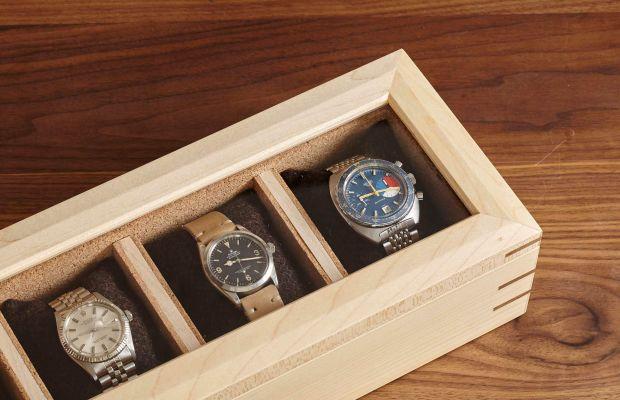 The Analog/Shift Flatiron Watch Case