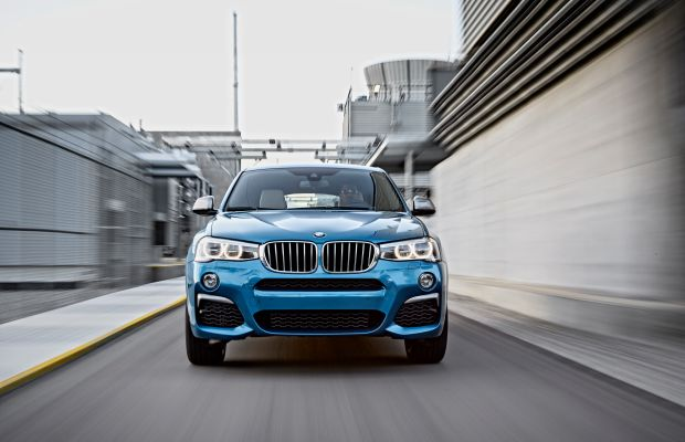 BMW's turbo-charged crossover, the X4 M40i