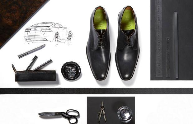 Oliver Sweeney crafts a driving shoe for Jaguar
