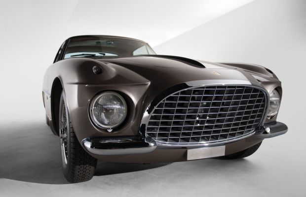 RM Auctions puts a one of a kind Ferrari Vignale on the auction block