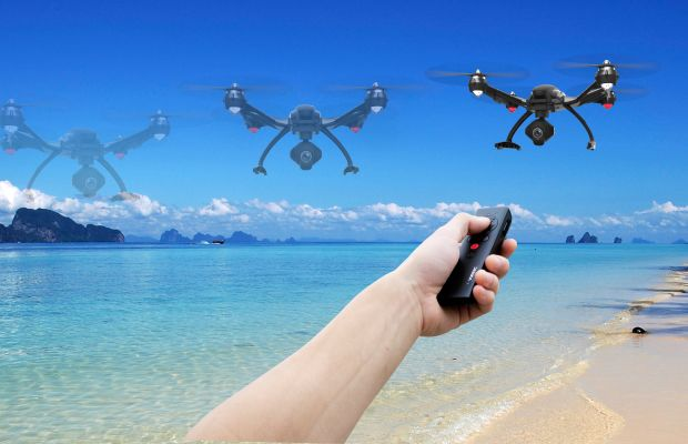 Yuneec simplifies drone flying with their Typhoon Wizard Remote