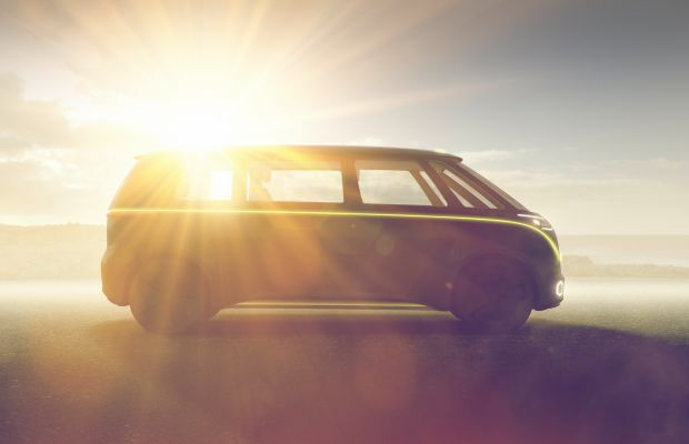 VW's I.D. Buzz Concept resurrects the Microbus