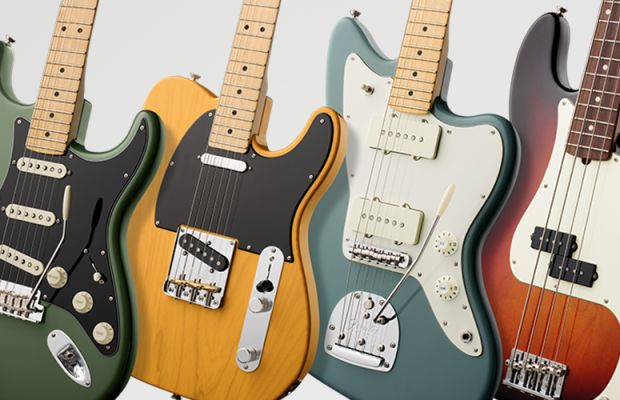 Fender launches American Professional, a new flagship collection of guitars and basses