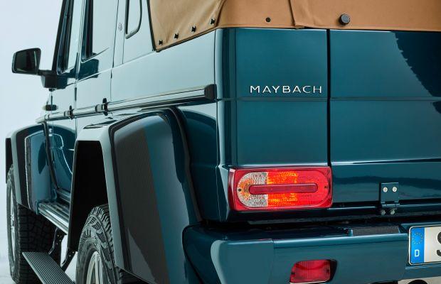 Mercedes Maybach unveils an ultra-luxurious, V-12 powered G-Wagen