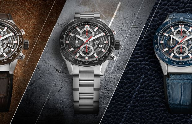 Tag Heuer refines its Carrera Heuer-01 for 2017