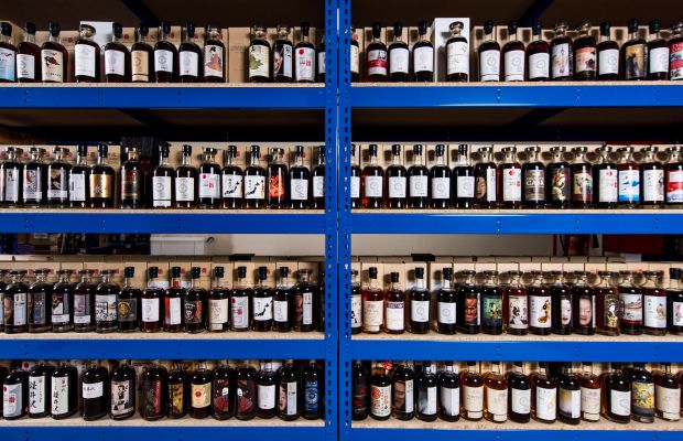 The world's largest known collection of rare Japanese whisky is going up for sale