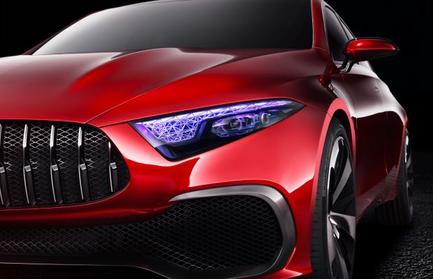 Mercedes previews the future of its compact sedan line with the Concept A