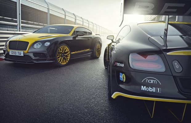 Bentley releases a two-tone limited edition to mark its entry in the Nürburgring 24 Hours