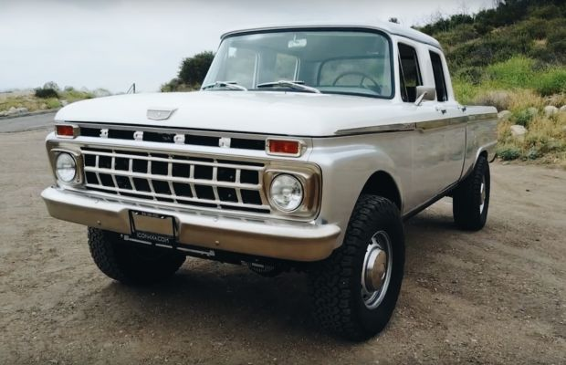 Jonathan Ward delivers a detailed tour of the Icon 1965 Ford Crew Cab Reformer